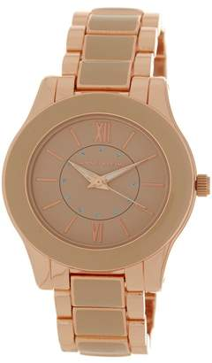Anne Klein Women's Embellished Dial Bracelet Watch, 35mm