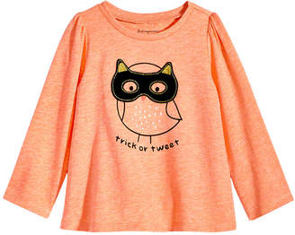 First Impressions Baby Girls Graphic-Print Cotton T-Shirt