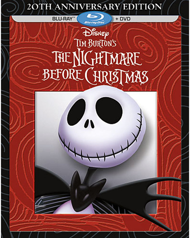 Tim Burton's The Nightmare Before Christmas Blu-ray + DVD