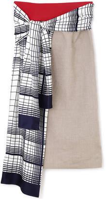 Adore (アドーア) - アドーア スカーフドッキングスカート