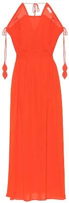 Tory Burch Evalene crêpe maxi dress