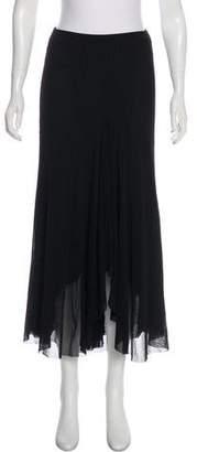 Fuzzi Asymmetrical Midi Skirt