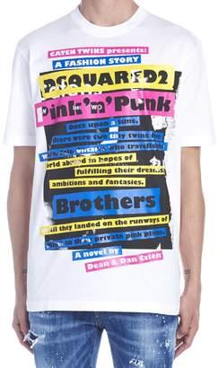 DSQUARED2 'acid Glam Punk' T-shirt