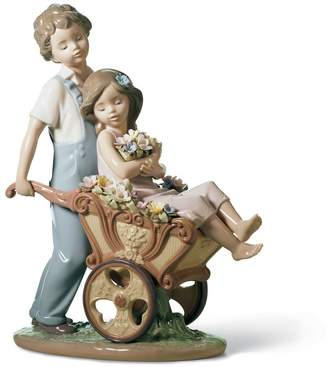 Lladro The Prettiest of All Figurine