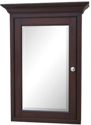 "KBC 24.25"" x 33"" Surface Mount Framed Medicine Cabinet with 4 Adjustable Shelves"