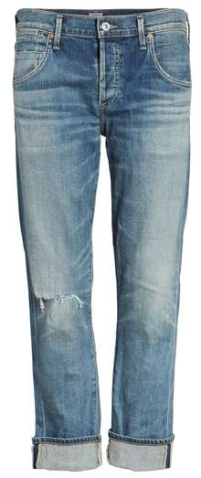 Citizens of Humanity 'Emerson' Ripped Slim Boyfriend Jeans
