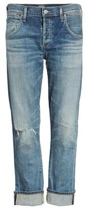 Women's Citizens Of Humanity 'Emerson' Ripped Slim Boyfriend Jeans