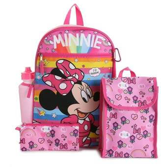 Fast Forward Minnie 5-Piece Backpack Set