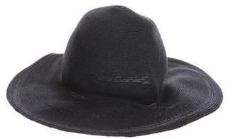 Albertus Swanepoel Woven Straw Hat