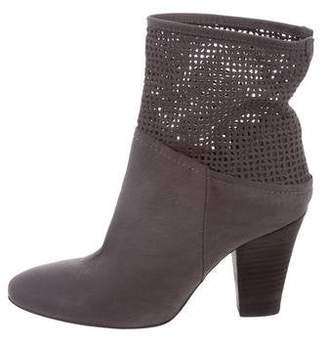 Cordani Suede Round-Toe Ankle Boots