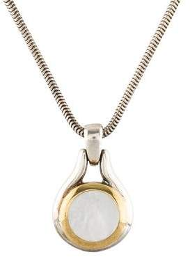 Tiffany & Co. Mother of Pearl Pendant Necklace