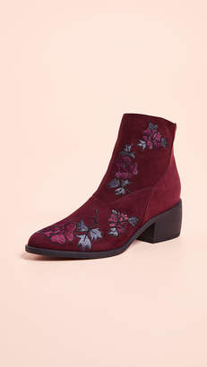 Ld Tuttle The Door Floral Booties