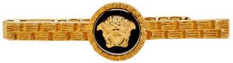 Versace Gold Medusa Tie Pin