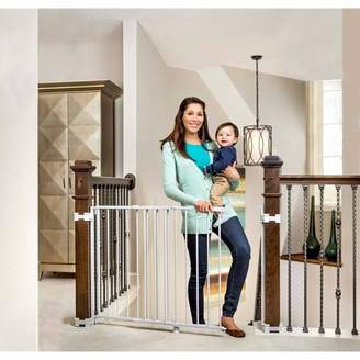 Regalo Top Of Stairs Metal Baby Gate