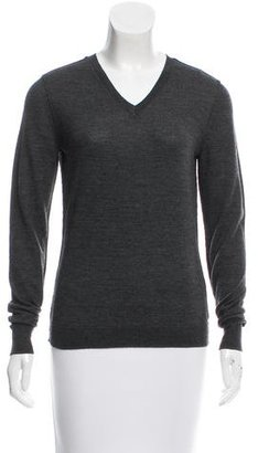 Inhabit Wool V-neck Top w/ Tags $95 thestylecure.com