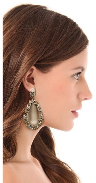 Alexis Bittar Neo Bohemian Paisley Clip Earrings