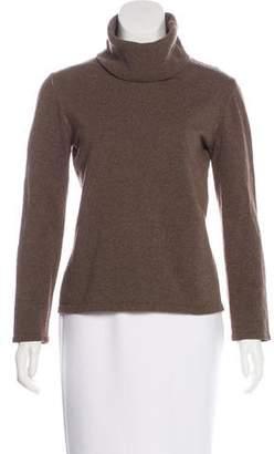 Maison Margiela Wool Knit Turtleneck Top