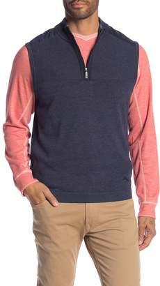 Tommy Bahama Island Fairway Half Zip Vest