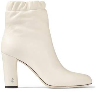 Jimmy Choo Marva 85 Leather Boots