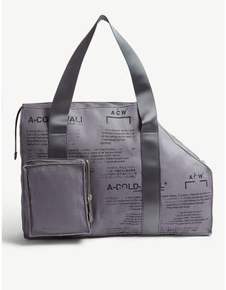 A-Cold-Wall* V2 canvas tote bag