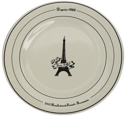 Sur La Table Eiffel Tower Breakfast Collection, Plate