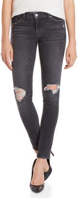 Levi's Bandit Black 711 Skinny Jeans