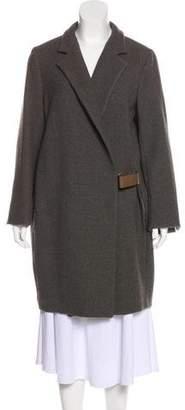 Brunello Cucinelli Wool-Blend Long Coat