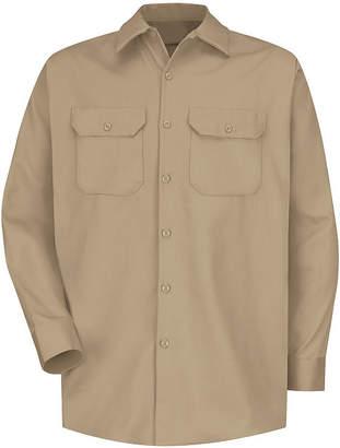 Red Kap SC70 Deluxe Heavyweight Cotton Shirt-Big & Tall
