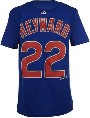 Majestic MajesticJason Heyward Chicago Cubs Player T-Shirt, Big Boys (8-20)