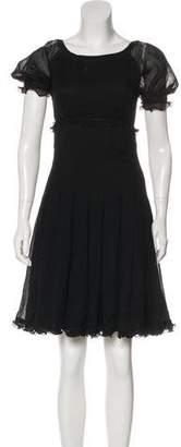 Fendi Silk A-Line Dress