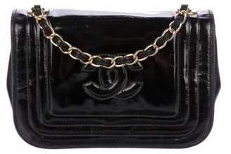 Chanel Patent CC Flap Bag