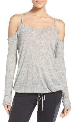 Women's Zella Destiny Cold Shoulder Tee $55 thestylecure.com