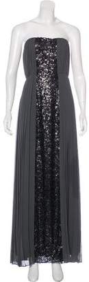 Calvin Klein Sequined Strapless Dress