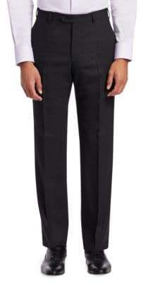 Emporio Armani Neat Flat Front Pants