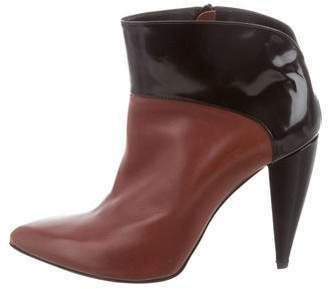 Pierre Hardy Leather Colorblock Booties