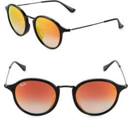 Ray-Ban 49MM Round Phantos Sunglasses