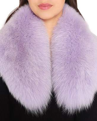 Charlotte Simone Princess Fox-Fur Collar