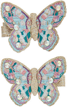 Monsoon 2x Dorris Butterfly Hair Clips