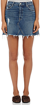 GRLFRND Women's Eva Short A-Line Skirt $158 thestylecure.com