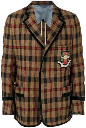 Gucci collegiate loved blazer