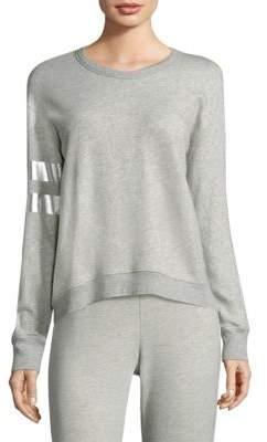 Wilt Silver Foil Sweatshirt