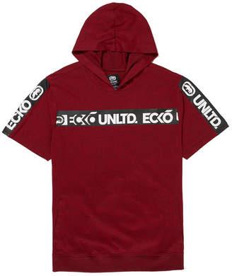 Ecko Unlimited Unltd Men Shoulder Up Ss Tape Hoodie