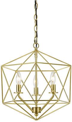 AF Lighting Aflighting Bellini Three-Light Chandelier