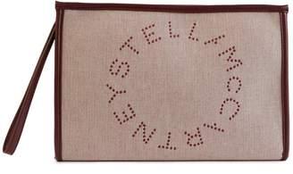 Stella McCartney Stella Mc Cartney Logo clutch