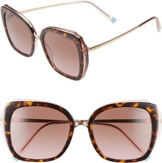Tiffany & Co. 54mm Gradient Square Sunglasses
