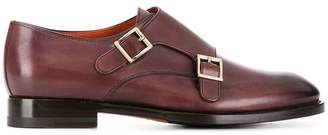 Santoni double-monkstrap shoes