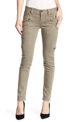 Miss Me Zip Accents Mid Rise Skinny Jeans