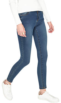 Miss Selfridge Sofia Authentic Jeans, Mid Wash Denim
