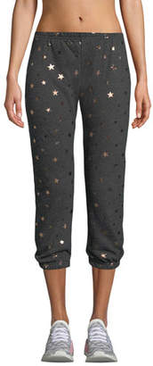 Spiritual Gangster Star-Print Perfect Jogger Sweatpants