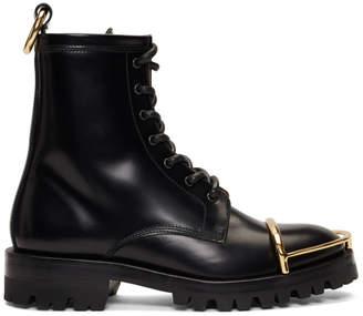 Alexander Wang Black Lyndon Halo Boots